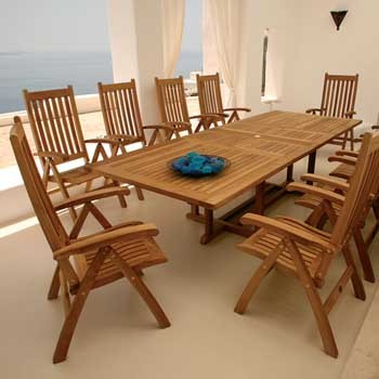 Barlow Tyrie Arundel Extending Dining Table (285)