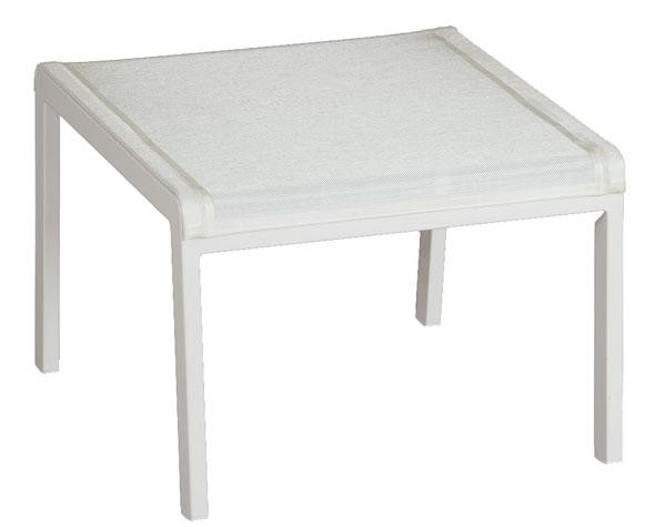 Barlow Tyrie Aura Deep Seating Footstool Arctic White