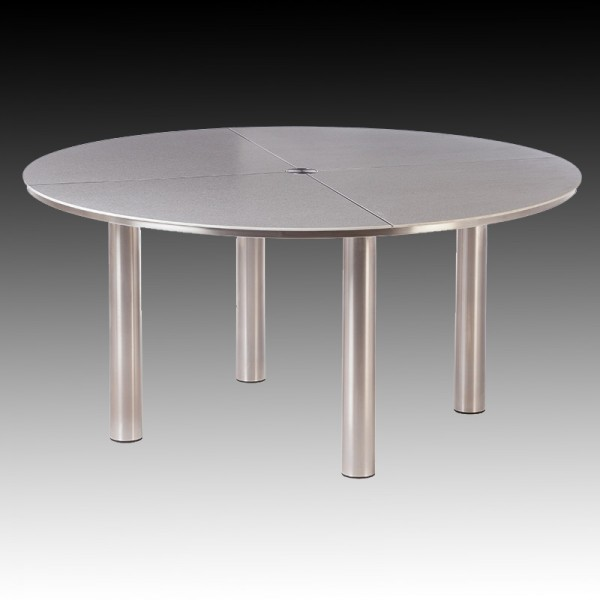Barlow Tyrie Equinox Dining Table Circular With Ceramic Table Top (150)