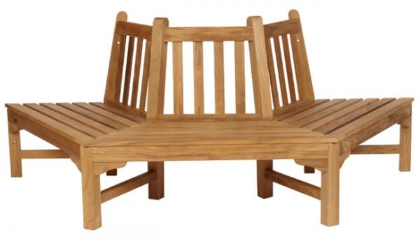 Barlow Tyrie Glenham Hexagonal Tree Seat (Half)