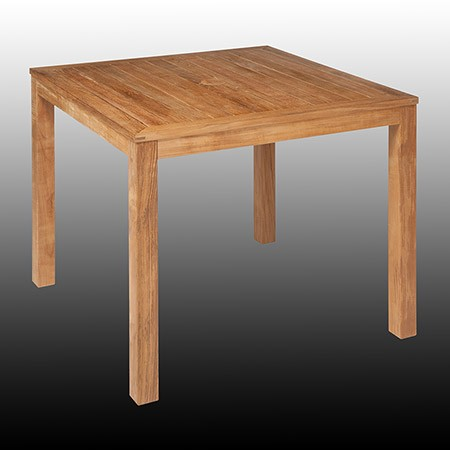 Barlow Tyrie Linear Dining Table 90cm Square