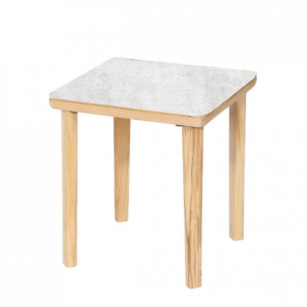 Barlow Tyrie Monterey Side Table 50cm - Frost .806