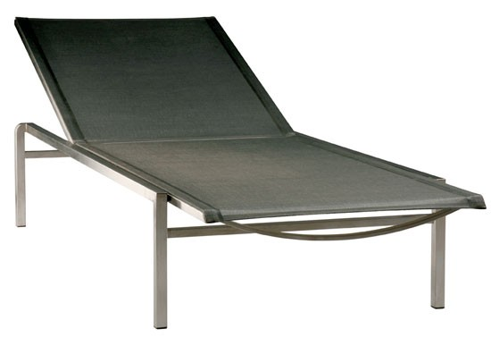 Barlow Tyrie Quattro Lounger Charcoal