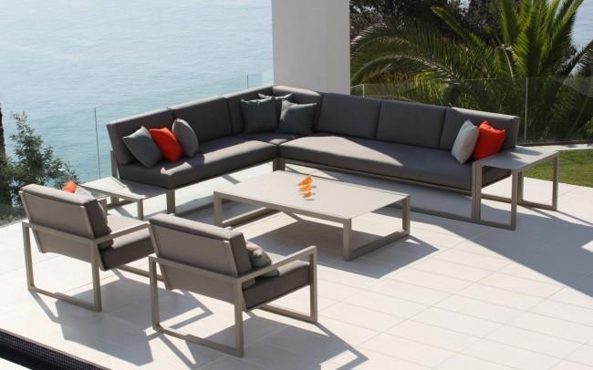royal botania ninix lounge 240 bench module indoor. Black Bedroom Furniture Sets. Home Design Ideas