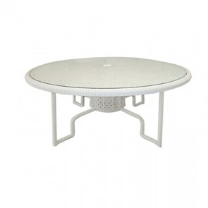 Barlow Tyrie Kirar Dining Table Circular Driftwood (120)