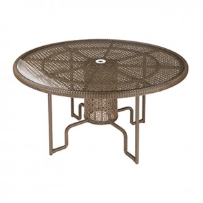 Barlow Tyrie Kirar Dining Table Circular Java (120)