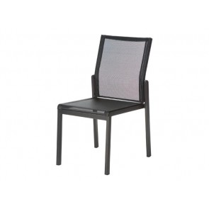 Barlow Tyrie Aura Dining Side Chair Graphite