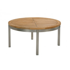 Barlow Tyrie Equinox Teak Circular Conversational Table (100)