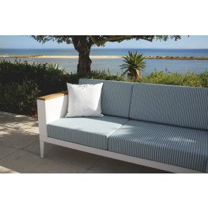 Barlow Tyrie Aura Deep Seating Two Seater Settee - White