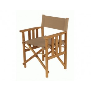 Barlow Tyrie Safari Folding Chair Pepper