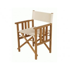 Barlow Tyrie Safari Folding Chair White Sand