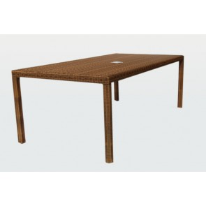 Casablanca Natural Rectangular Dining Table