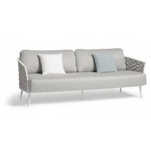Manutti Cascade 3s Sofa - Silver