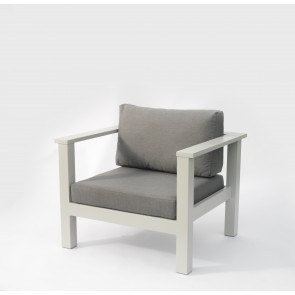 Leoni Outdoor Armchair Grey