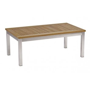 Barlow Tyrie Equinox Teak Rectangular Coffee Table (100)