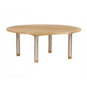 Barlow Tyrie Equinox Dining Table Circular Teak (180)