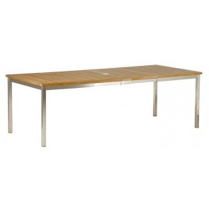 Barlow Tyrie Equinox Teak Extending Dining Table (230)