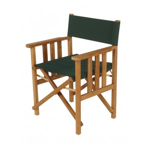 Barlow Tyrie Safari Folding Chair Forest Green