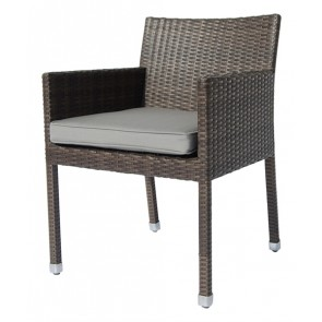 Henriette Armchair New Brown