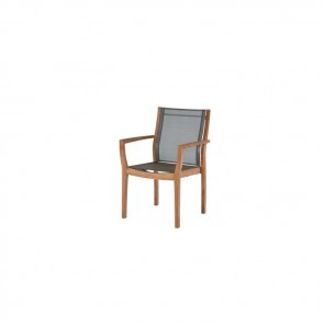 Barlow Tyrie Horizon Armchair With Fabric Sling Titanium