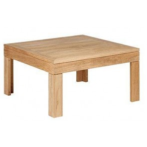 Barlow Tyrie Linear Square Coffee Table (76cm)