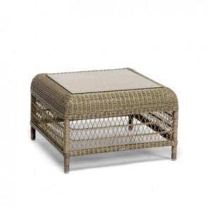 Manutti Malibu Medium Square Coffee Table/ Footstool