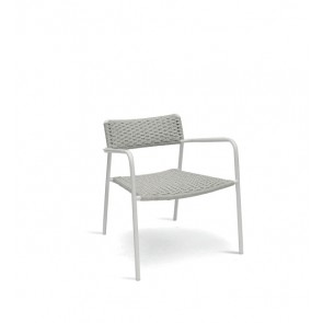 Manutti Large Echo Armchair - Silver