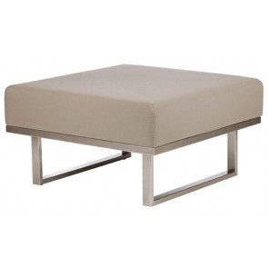Barlow Tyrie Mercury Ottoman Taupe