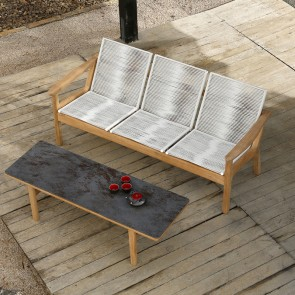 Barlow Tyrie Monterey Coffee Table 150cm - Oxide