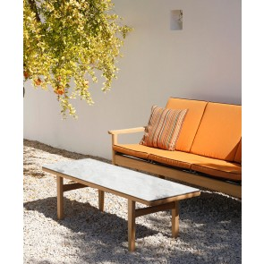 Barlow Tyrie Monterey Coffee Table 150cm - Frost