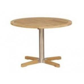 Barlow Tyrie Equinox Teak Circular Pedestal Table (100)