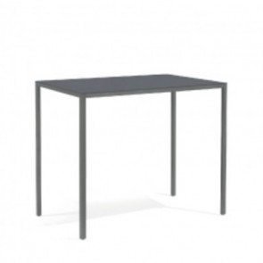 Manutti Quarto High Rectangular Bar Table