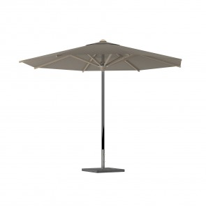 Royal Botania Shady Garden Umbrella Stainless Steel Centered Pole And Coated Aluminum Ribs