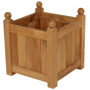 Barlow Tyrie Caisse Versailles Small Teak Planter