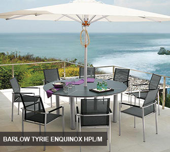 Barlow Tyrie Equinox HPL / Mercury