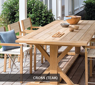 Manutti Cross (Teak)