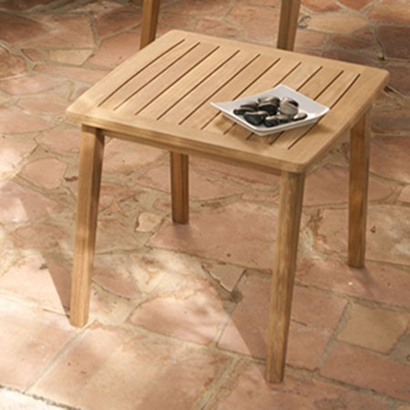 Barlow Tyrie Chesapeake Side Table Square 60cm