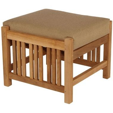 Barlow Tyrie Mission Footstool