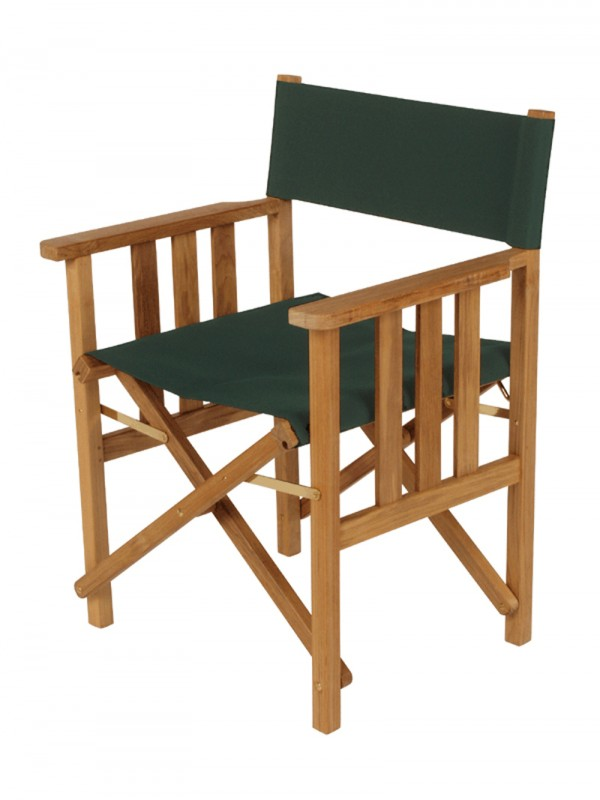 Barlow Tyrie Safari Folding Chair Forest Green