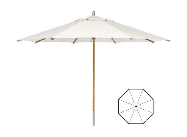Manutti Central Pole Umbrella - R-CEP-T