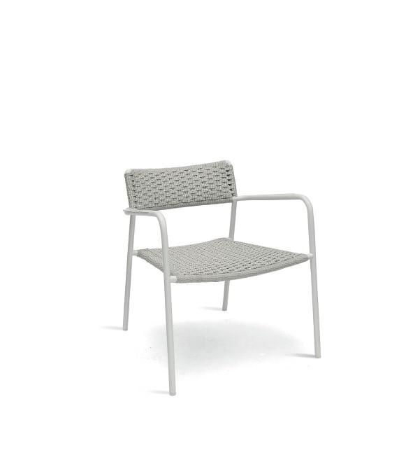 Manutti Large Echo Armchair Silver Manutti Garden Furniture