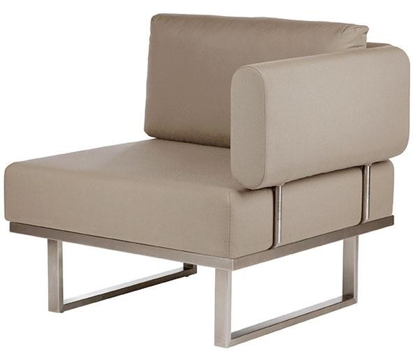 Barlow Tyrie Mercury Deep Seating Module Right Taupe