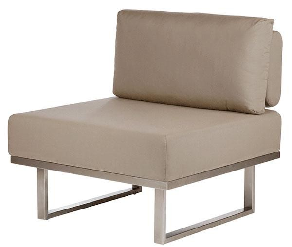 Barlow Tyrie Mercury Deep Seating Module Middle Taupe