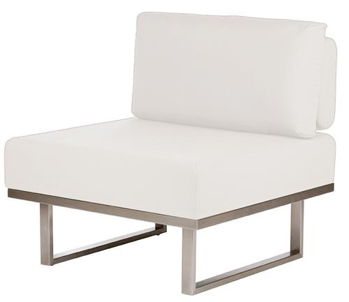 Barlow Tyrie Mercury Deep Seating Module Middle Natural