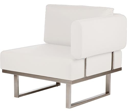 Barlow Tyrie Mercury Deep Seating Module Right Natural