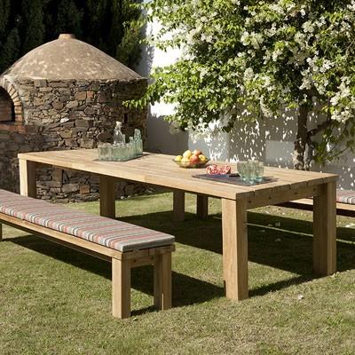 Barlow Tyrie Titan Dining Table 300 Garden Furniture Uk