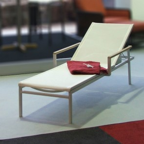 Barlow Tyrie Aura Sun Lounger - Arctic White