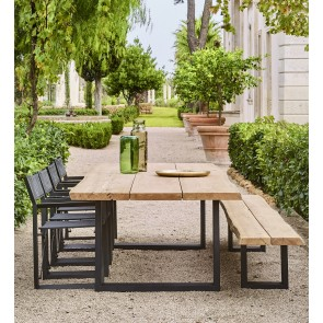 *50% Discount | Jardinico Nature Teak Dining Table Set As Shown