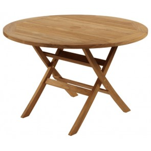 Barlow Tyrie Ascot Folding Round Table (110)