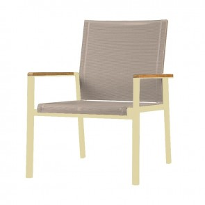 Barlow Tyrie Aura Deep Seating Armchair Champagne